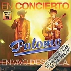 Palomo - En Concierto CD Cover Art