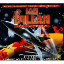 Gillan, Ian - Live in Nottingham CD Cover Art