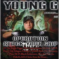 Young G - Operation Stack Your Grip CD Cover Art