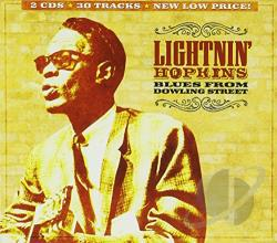 Hopkins, Lightnin' - Blues from Dowling Street CD Cover Art