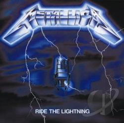 Metallica - Ride the Lightning CD Cover Art