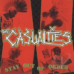 Casualties - Stay Out of Order CD Cover Art