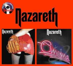 Nazareth - Catch/Cinema CD Cover Art
