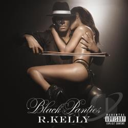 Kelly, R. - Black Panties CD Cover Art