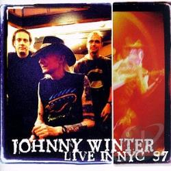 Winter, Johnny - Live in NYC '97 CD Cover Art