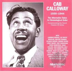 Calloway, Cab - Alternative Takes: 1930-44 CD Cover Art