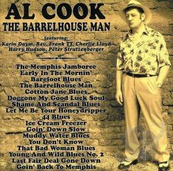 Cook, Al - Barrelhouse Man CD Cover Art