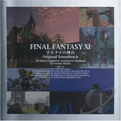 Final Fantasy XI Altana No Shinpei CD Cover Art