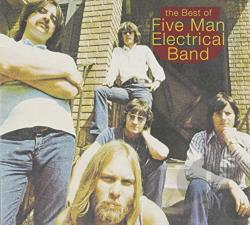 FIve Man Electrical Band - Best of Five Man Electrical Band CD Cover Art