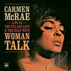 McRae, Carmen - Woman Talk CD Cover Art