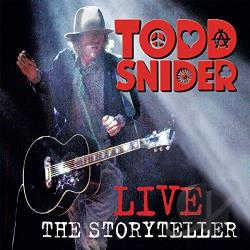Snider, Todd - Live: The Storyteller CD Cover Art