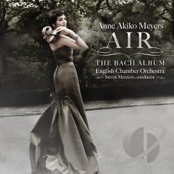 English Chamber Orch / Mercurio / Meyers - Air: The Bach Album CD Cover Art