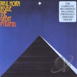 Horn, Paul - Inside The Great Pyramid CD Cover Art