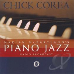 Corea, Chick - Marian McPartland's Piano Jazz CD Cover Art