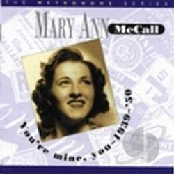 Mccall, Mary Ann - You're Mine, You: 1939-1950 CD Cover Art