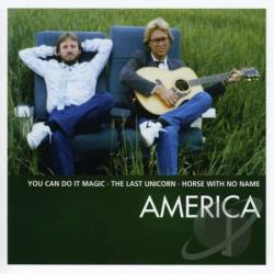America - Essential CD Cover Art
