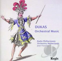 Dukas / Fournet / Nrp - Orchestral Music CD Cover Art
