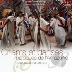 Ensamble Moxos / Maldonado - Chants et Danses CD Cover Art
