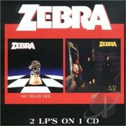 Zebra - No Tellin' Lies/3.V CD Cover Art