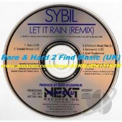 Sybil - Let It Rain LP Cover Art