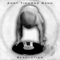 Timmons, Andy - Resolution CD Cover Art
