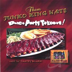 Them Junko King Hats - Dance Party Takeout! CD Cover Art