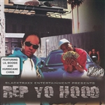 Slacktraxx Presents: Rep Yo Hood CD Cover Art