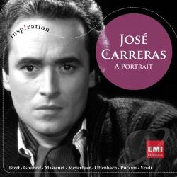 Carreras, Jose - Jose Carreras: A Portrait CD Cover Art
