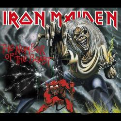 Iron Maiden - Number of the Beast CD Cover Art