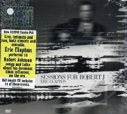 Clapton, Eric - Sessions For Robert J CD Cover Art