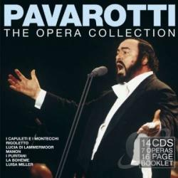 Pavarotti, Luciano - Opera Collection CD Cover Art