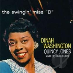 Jones, Quincy / Washington, Dinah - Swingin' Miss D CD Cover Art