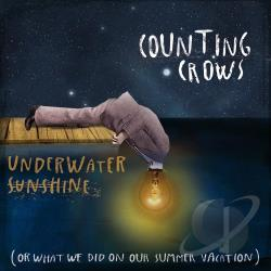 Counting Crows - Underwater Sunshine (Or What We Did on Our Summer Vacation) CD Cover Art