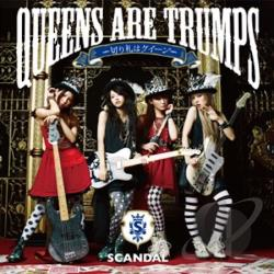Scandal - Queens Are Trumps Kirifuda Ha Queen CD Cover Art