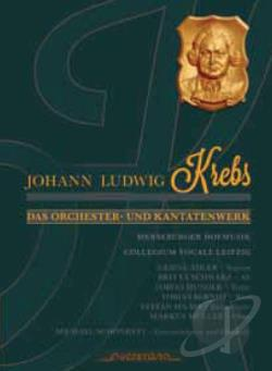 Collegium Voc / Schoenheit:cnd - Johann Ludwig Krebs: Orchestral Works and Cantatas CD Cover Art