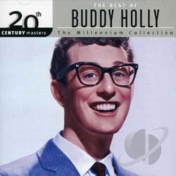 Holly, Buddy - 20th Century Masters - The Millennium Collection: The Best of Buddy Holly CD Cover Art