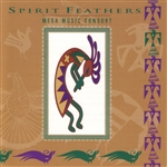 Mesa Music Consort - Spirit Feathers CD Cover Art