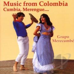 Groupo Merecumbe - Music From Columbia-Cumbia Me CD Cover Art