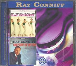 Conniff, Ray - Hollywood in Rhythm/Rhapsody in Rhythm CD Cover Art
