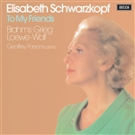 Schwarzkopf, Elisabeth - To My Friends CD Cover Art