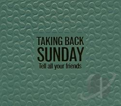Taking Back Sunday - Tell All Your Friends CD Cover Art