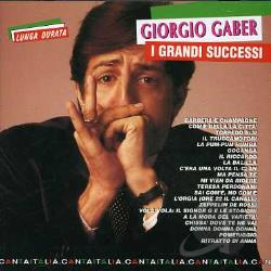 Gaber, Giorgio - I Grandi Successi CD Cover Art