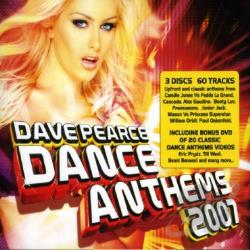 Dance Anthems 2007: David Pearce CD Cover Art