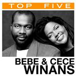 BeBe & CeCe Winans - Top 5: Hits DB Cover Art