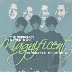 Supremes - Magnificent: The Complete Studio Duets CD Cover Art