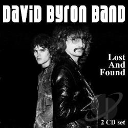 Byron, David - Lost and Found CD Cover Art