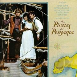 Gilbert & Sullivan - Pirates of Penzance CD Cover Art