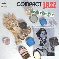 Vaughan, Sarah - Compact Jazz: Sarah Vaughan CD Cover Art