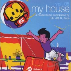 DJ Jef K (Various) - V5 My House CD Cover Art