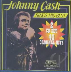 Cash, Johnny - Sings His Best CD Cover Art